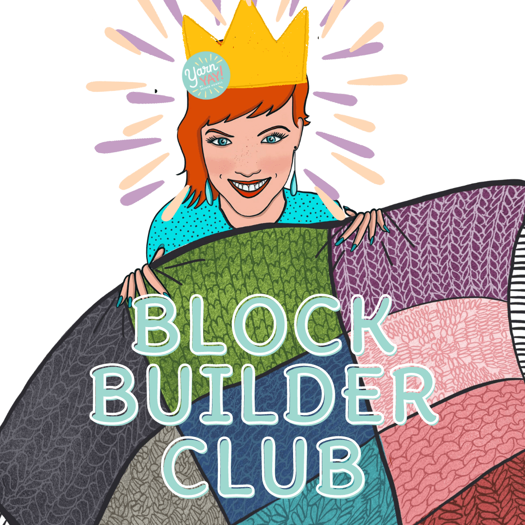 Digital Block of the Month Club for Knitters & Crocheters