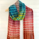 Sunset Blvd Knit Scarf by Vickie Howell