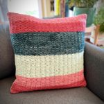 Tiny Shells Pillow by Vickie Howell